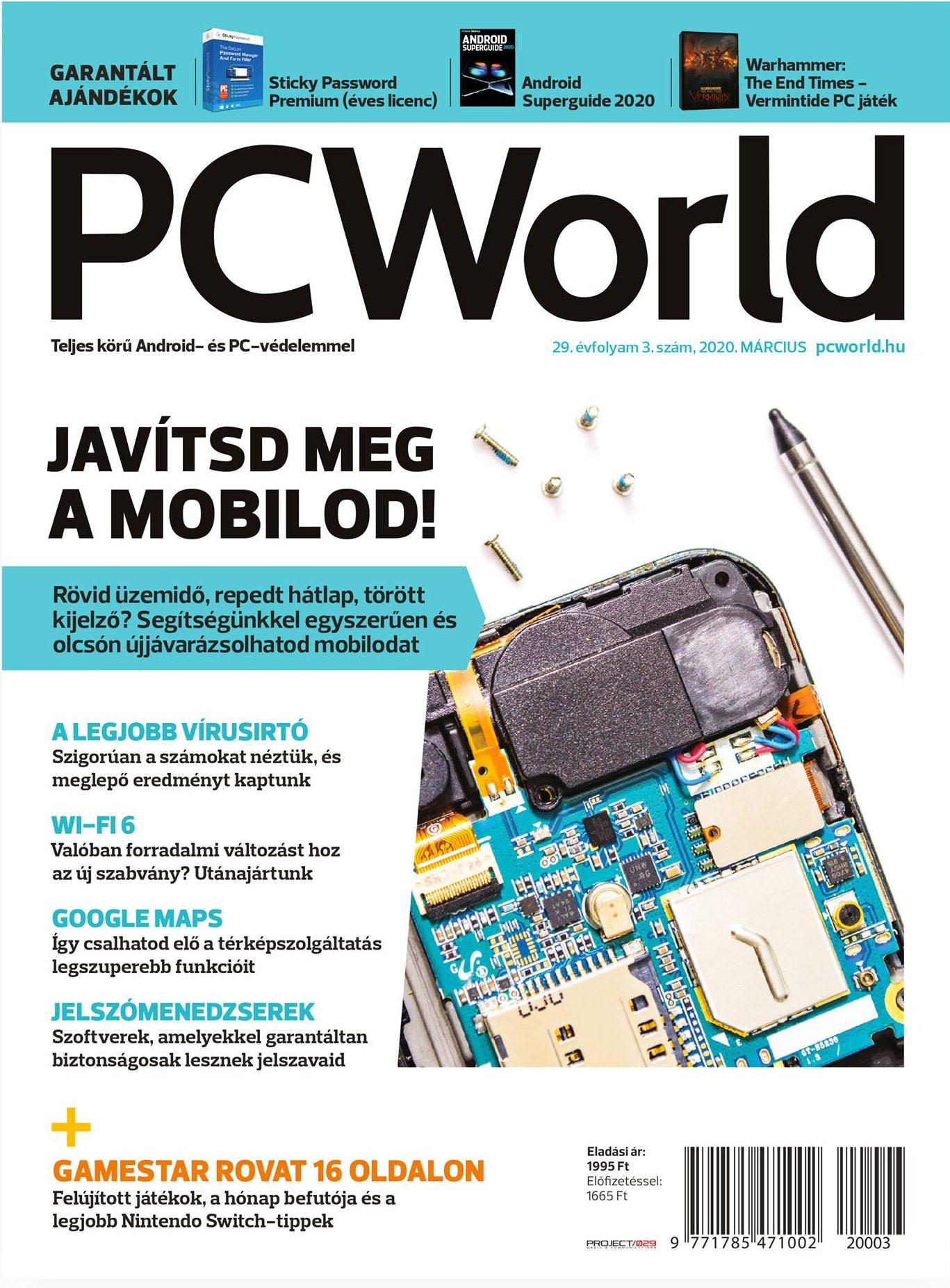 PC World korrektúrázás