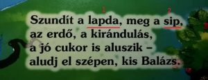 A mesék helyesírása – József Attila: Altató