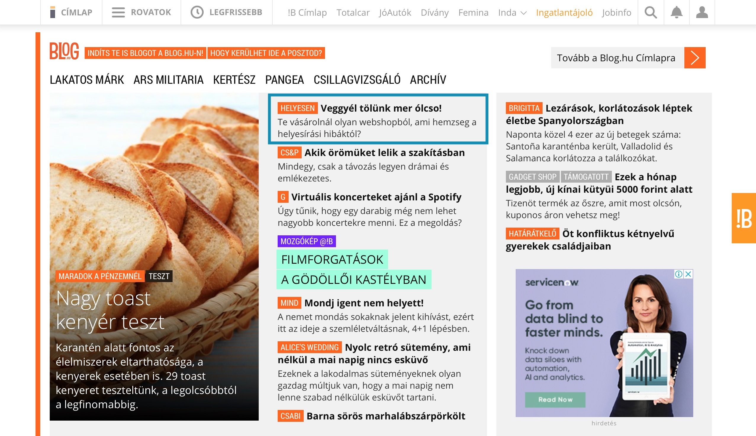 Index címlap Helyesen magyarul blog