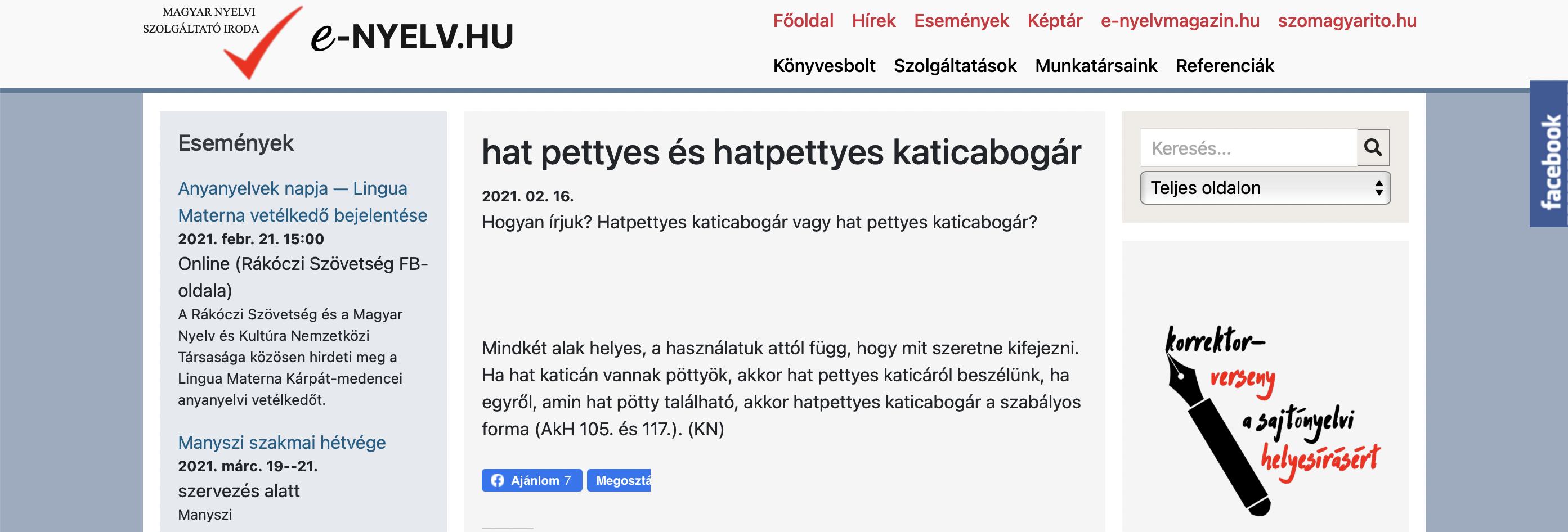 e-nyelv.hu ingyenes nyelvi tanácsadás – Kótis Nikoletta