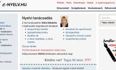 e-nyelv.hu ingyenes nyelvi tanácsadás Kótis Nikoletta